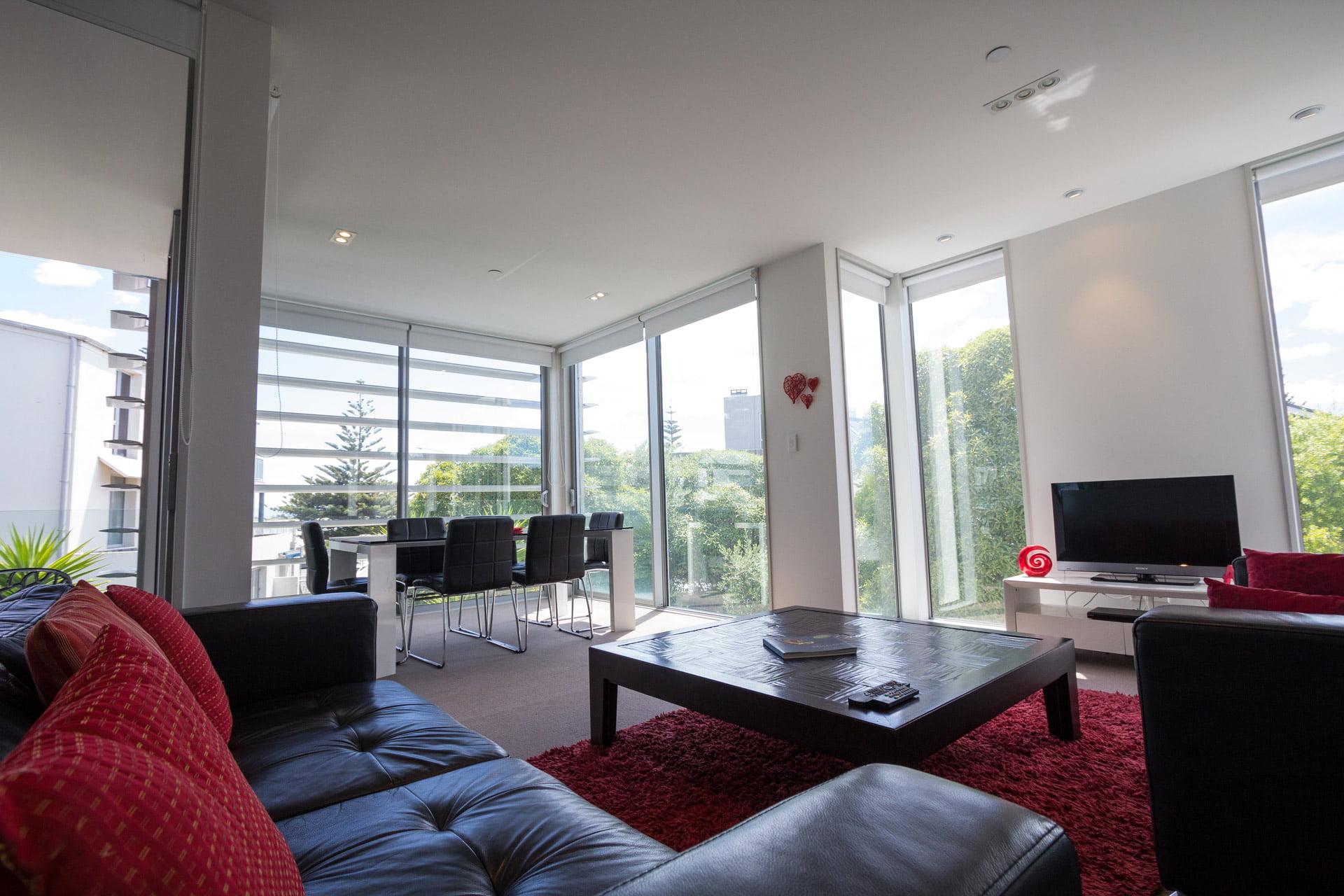 bayside apartment livingroom